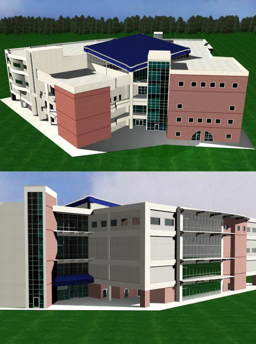 School teaching building 3d model download free 3d for Mobel 3d download