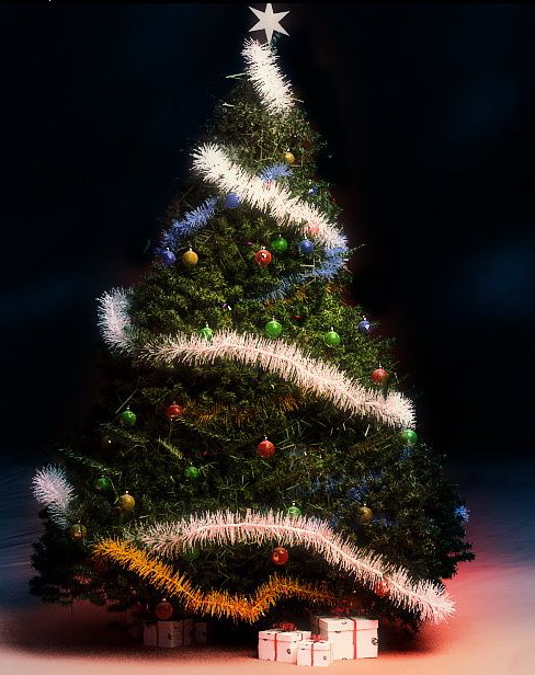 Christmas Tree 3d Model Download Free 3d Models Download