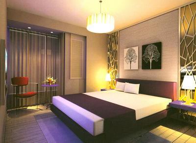 Model home bedrooms