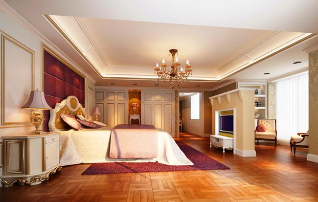 Deluxe european bedroom design 3d model download free 3d for European bedroom design