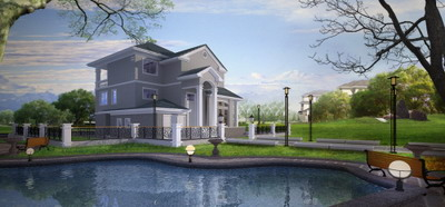 Download free 3d models of modern architecture 3d model - 3d max models free download exterior ...