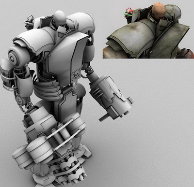 Robot Gunman 3d Models 3d Model Download Free 3d Models