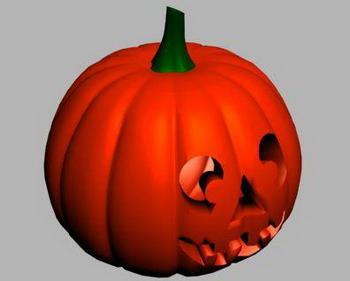 Halloween Pumpkin 3d Models 3d Model Download Free 3d