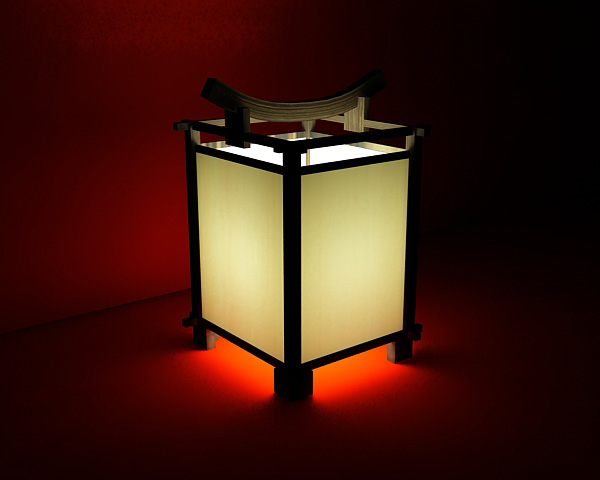 Chinese Traditional Style Lamps And Lanterns 3d Models