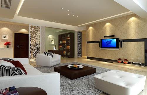 Warm And Fashion Model Living Room 3D Model Download Free 3D Models Download