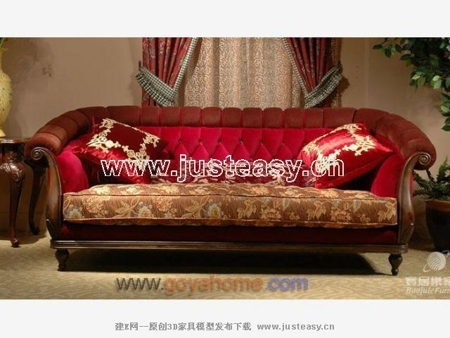 Classic Sofa 3d Model Download Free 3d Models Download