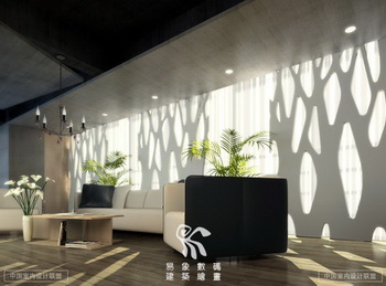 Modern style office reception room scene 3d model download for Office design 3d max