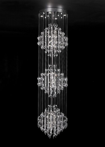 Modern Three Layers Crystal Chandelier 3d Model Download Free 3d Models Download
