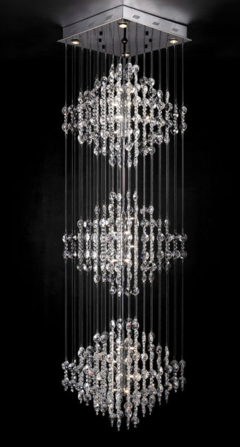 Ultra Modern Crystal Chandelier 3d Model Download Free 3d