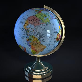 World Globe 3d Models 3d Model Download Free 3d Models