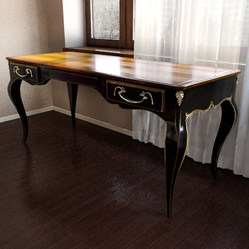 Old Style Classic Table 3d Model 3d Model Download Free 3d