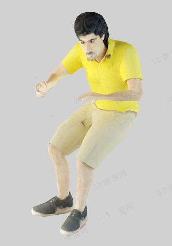 Men Slightly Fat Physique Model 3d Model Download Free 3d