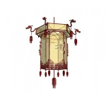 3d models retro style chandelier
