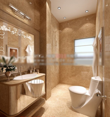 Full bath model 3d model download free 3d models download for Bathroom design 3d model