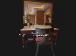 3d model of the bathroom vanity