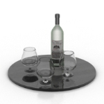 wine glass composition model