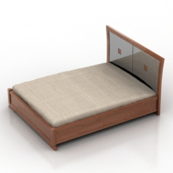 Wooden beds model 3d model download free 3d models download - Modern tuinmodel ...