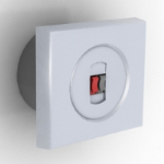 white electrical switch model