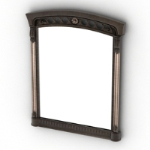 creative shape mirror model