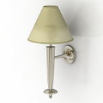 hotel bedside wall lamp model