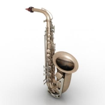 Saxophone 3d Models 3d Model Download Free 3d Models Download