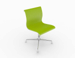 Modern simple green leisure chair 3d model