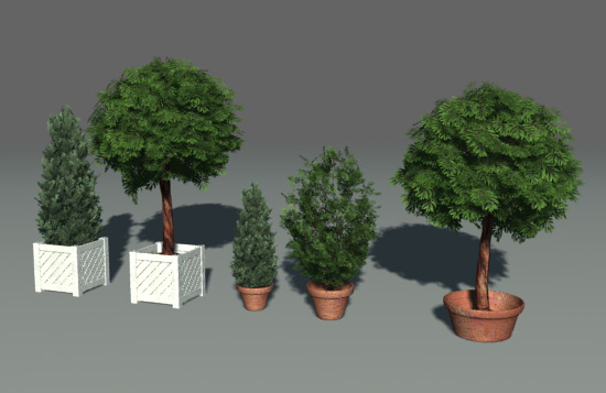 Green Parks / plants / trees 3D Model Download,Free 3D ... - photo#19