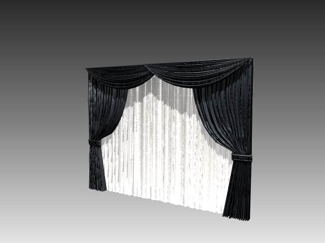 Furniture Curtains 027 3d Model Download Free 3d Models Download