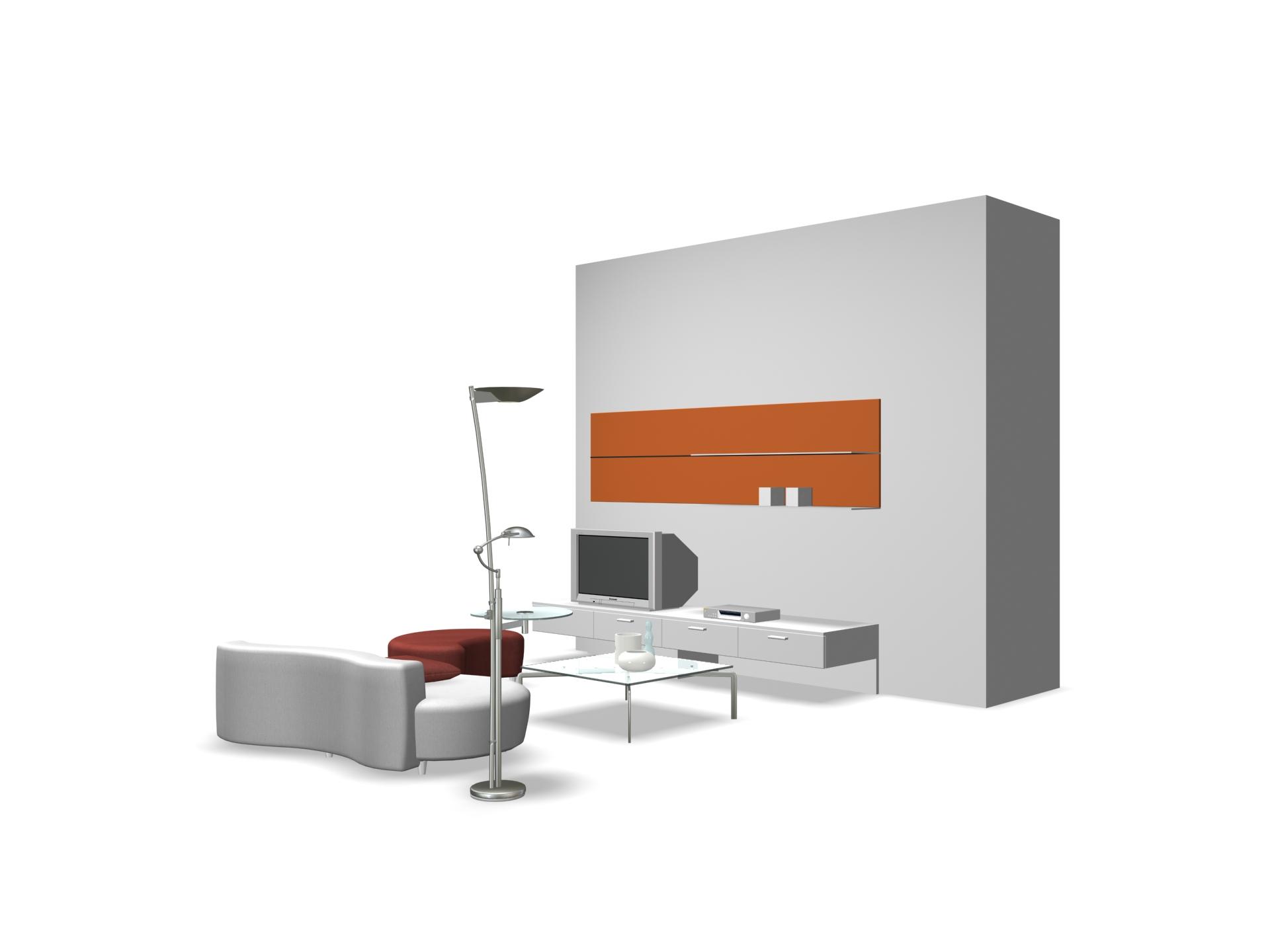 furniture sas 002 3d model download free 3d models download. Black Bedroom Furniture Sets. Home Design Ideas